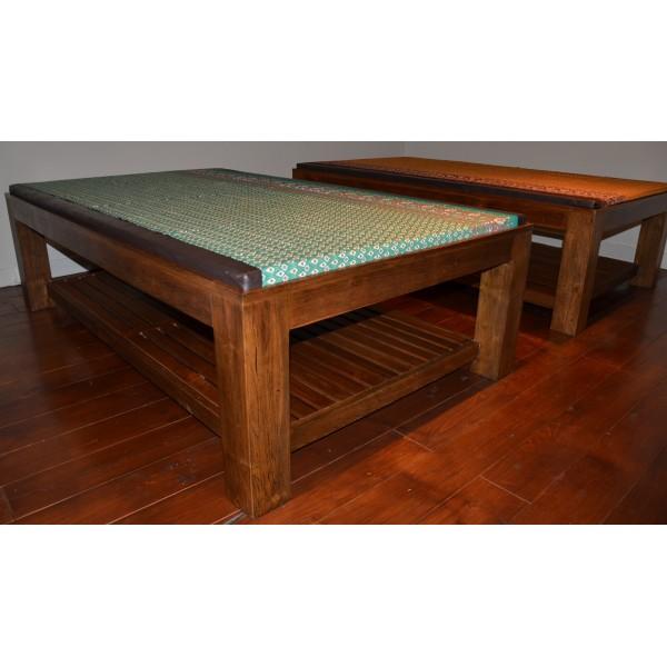 lit de massage tha traditionnel 120x200x60cm. Black Bedroom Furniture Sets. Home Design Ideas